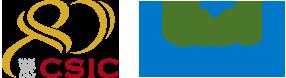 Logos CSIC 80 aniversario y UAM