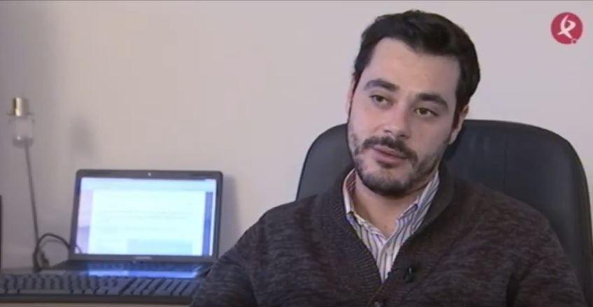 Daniel Lozano en la entrevista