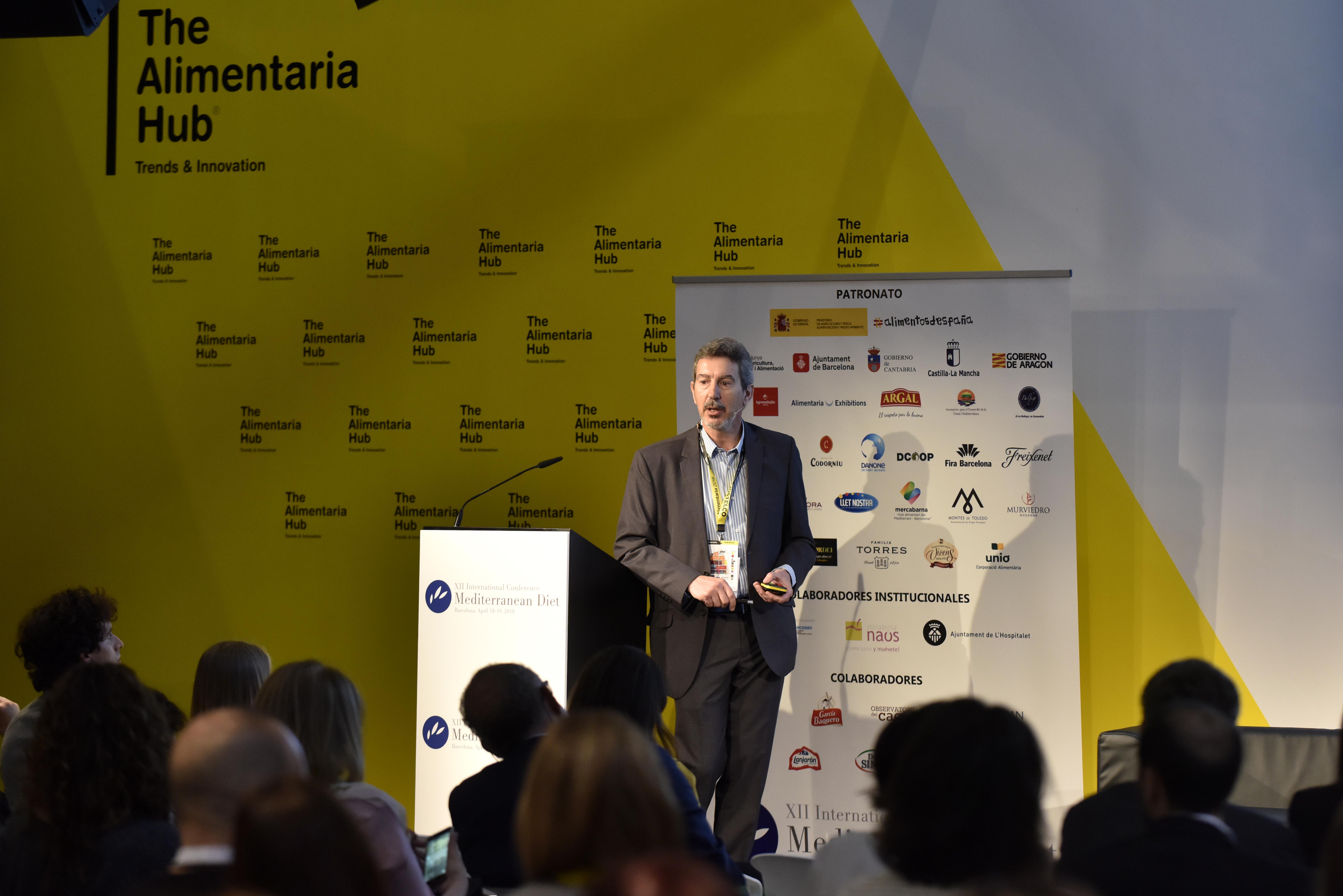"""Javier Fontecha en el XII Congreso Internacional """"Dieta Mediterránea"""""""