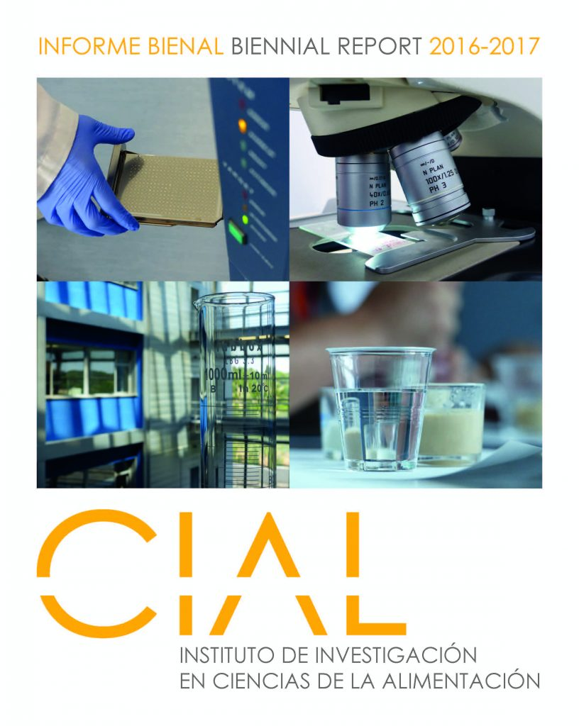 Portada Memoria bianual CIAL 2016-2017