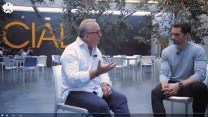 """Instante de la entrevista de Telemadrid """"La Otra Ciencia"""""""
