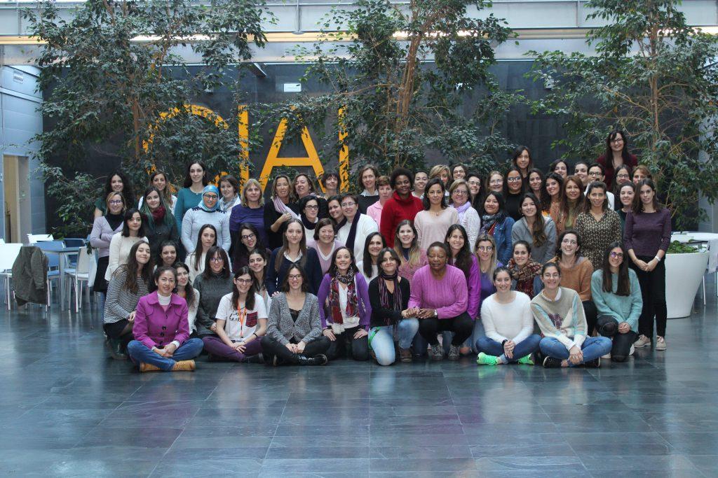 Fotografía de las mujeres del CIAL el Día Mundial de las Niñas y las Mujeres en la Ciencia 2019