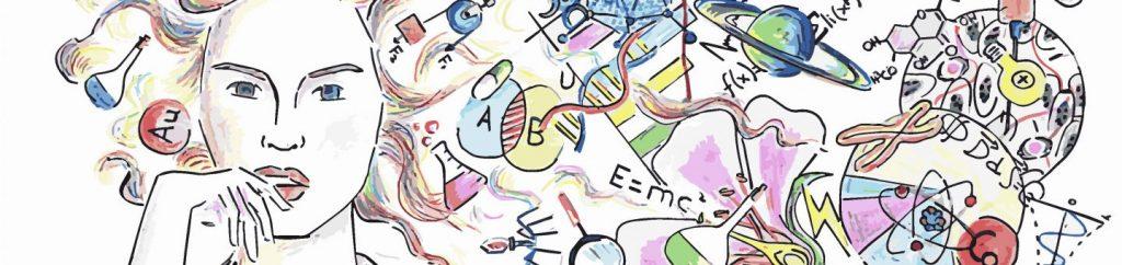 Cartel Día Mundial de las Niñas y las Mujeres en la Ciencia