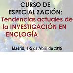 Curso Tendencias Actuales de la Investigación en Enología 2019
