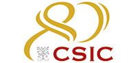Logotipo del 80 aniversario CSIC