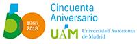 Logotipo del 50 aniversario UAM