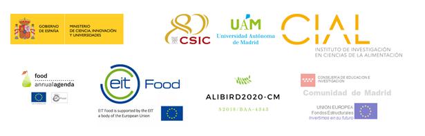 Logos patrocinadores 10ª noche europea de los investigador@s