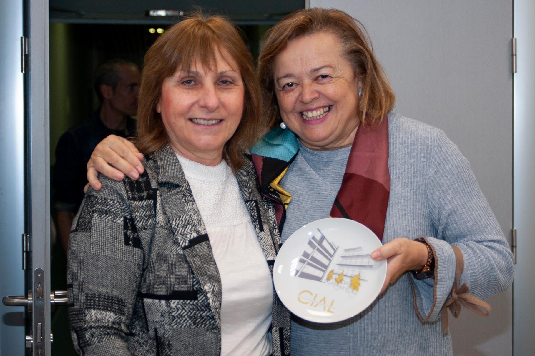 Tiziana Fornari y Rosa Menéndez
