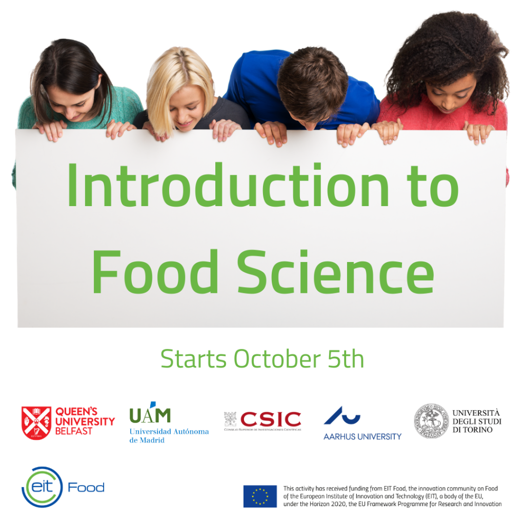Flyer Introduction to Food of Science
