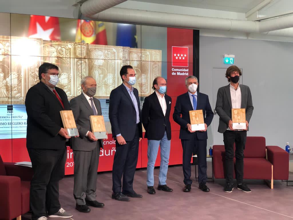 Foto entrega premios Fermina Orduña 2020